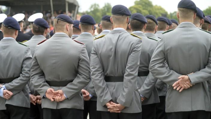 Öffentlicher Beförderungsappell der Bundeswehr in München, 2012