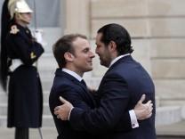 Libanesischer Premier Hariri in Paris