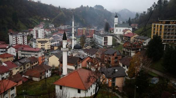 General view of Srebrenica