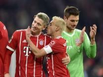 18 11 2017 Fussball 1 Liga 2017 2018 12 Spieltag FC Bayern München FC Augsburg in der Allianz