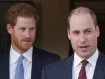 Prinz Harry und Prinz William; jetzt Jedi