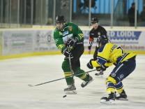 Eishockey-Bayernliga: EV Moosburg - EC Pfaffenhofen; Sparkassen-Eisarena Moosburg