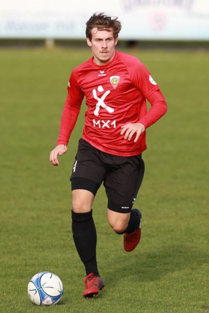 Michael Kain FC Unterföhring Fussball Regionalliga Bayern 04 11 2017 FC Unterföhring VfB; Fußball