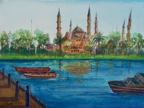Kunst aus Guantánamo: Untitled (Blue Mosque)