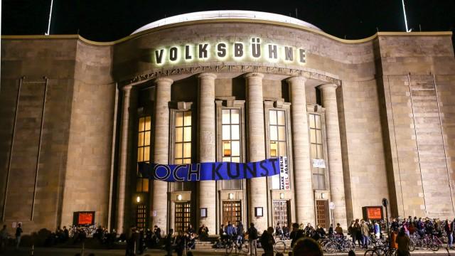 Volksbuehne Berlin besetzt Volksbuehne Berlin besetzt