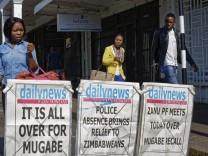 Robert Mugabe als Parteichef abgesetzt