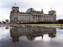 Nach dem Ende der Sondierungsgespräche - Bundestag