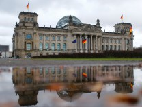 The Reichstag building, seat of the Bundestag, is seen in Berlin