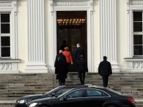 Nach dem Ende der Sondierungsgespräche · Merkel