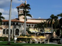 FILE PHOTO: The Mar-a-Lago estate is shown before U.S. President-elect Donald Trump departed with his family in Palm Beach