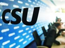 allgemein Feature Randmotiv CSU Schriftzug Logo CSU Vorstandssitzung am 16 10 2017 *** Common Feat