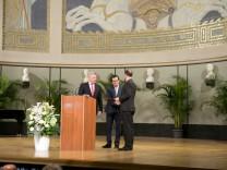 Verleihung Geschwister-Scholl-Preis in der Aula der LMU