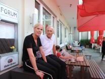 Cafe Forum in München, 2017