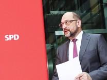 Nach dem Ende der SondierungsgesprâÄ°che - SPD