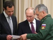 Assad trifft Putin in Sotschi