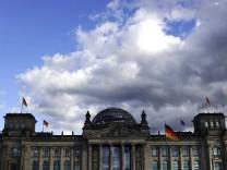 Aussenansicht des Reichstages DEU Berlin 08 10 2017