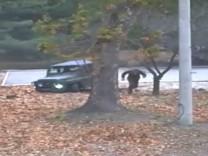 Nordkoreanischer Soldat flieht