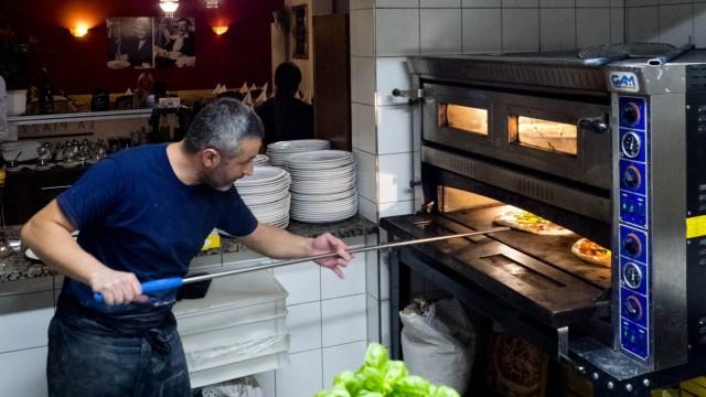 MS Pizzeria wg. Brandmelder; pizzeria
