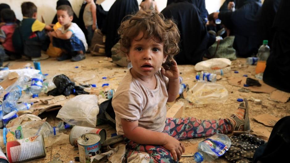 Dschihad: Deutsche IS-Kinder im Irak