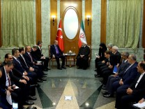 Turkey's President Erdogan meets with Iran's President Rouhani in Sochi