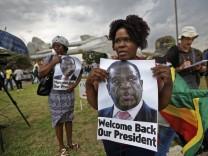 Krise in Simbabwe