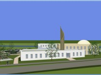 Moschee in Kaufbeuren - Computersimulation
