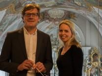 Franz Maier und Ira Maria Scholz