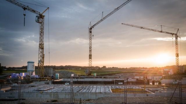 Bau von Eigentumswohnungen in Grafing, 2017