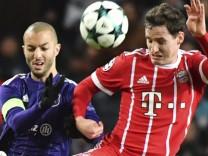 Sebastian Rudy vom FC Bayern in der Champions League