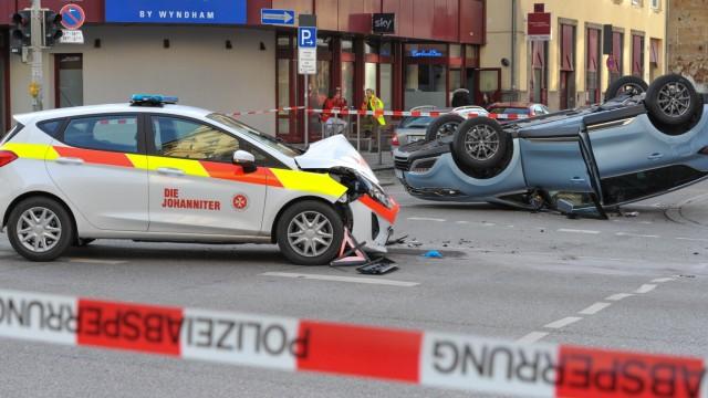 Polizei in München Innenstadt
