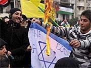 Anti-Israel-Proteste im Libanon; dpa