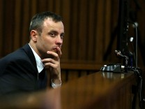 (FILE) Oscar Pistorius's Jail Sentence Has Been Increased By A South African Court To 13 years & Five Months. Oscar Pistorius Is Tried For The Murder Of His Girlfriend Reeva Steenkamp