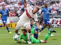 26 08 2017 Deutschland Stuttgart Fußball Bundesliga 2 Spieltag Saison 2017 2018 VfB Stuttgar; Videobeweis