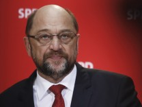 Martin Schulz Gives Statement As Possibility Of Grand Coalition Grows