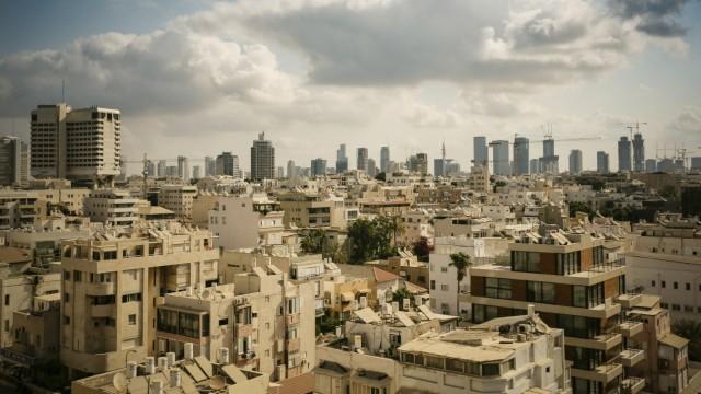 Israel Tel Aviv cityscape PUBLICATIONxINxGERxSUIxAUTxHUNxONLY REAF000079