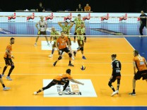 GER 1 VBL BR VOLLEYS VS TSV Herrsching 18 10 2017 Max Schmeling Halle Berlin GER 1 VBL BR; Volleyball
