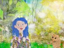 """Kinderbuch """"Blubb"""" von Barbara Winhart aus Ebersberg, Cover"""