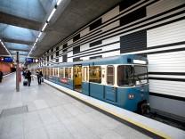 """U-Bahnhof """"Oberwiesenfeld"""" in München, 2016"""