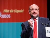 Beginn Juso-Bundeskongress