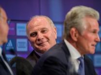 FC Bayern - Präsident Hoeneß