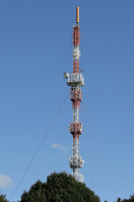 Die Sendeanlage Sender Siegen Giersberg am 10 09 2017 in Siegen Deutschland *** the Transmitter St