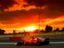 Bilder des Tages SPORT Motorsports FIA Formula One World Championship WM Weltmeisterschaft 2017