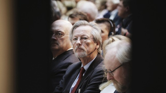 Peter Willy Brandt âÄ°ltester Sohn von Rut und Willy Brandt Deutschland Berlin Willy Brandt Haus