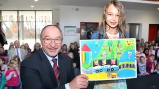 Josephina Kellas gewinnt den Malwettbewerb; MVV-Malwettbewerb