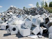 Recycling von Elektrogeräten