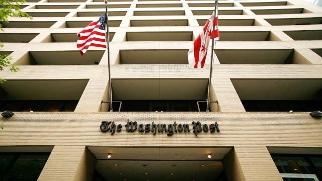 Washington Post Announces First Quarter Profits