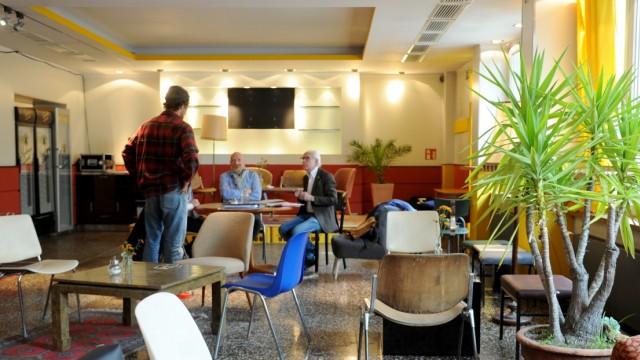"""Cafés in München Café """"404 page not found"""""""