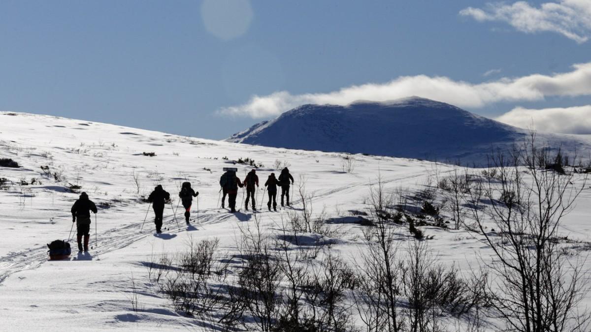 Digital Detox:Warum sich eine Skitour in Norwegen lohnt