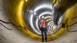 Baustelle des U-Bahnhofs 'Unter den Linden' der neuen U5