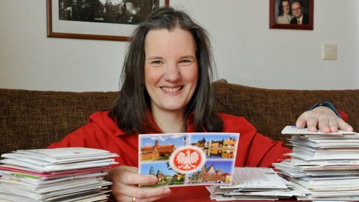 Postkartensammlerin Manuela Merl, 2011